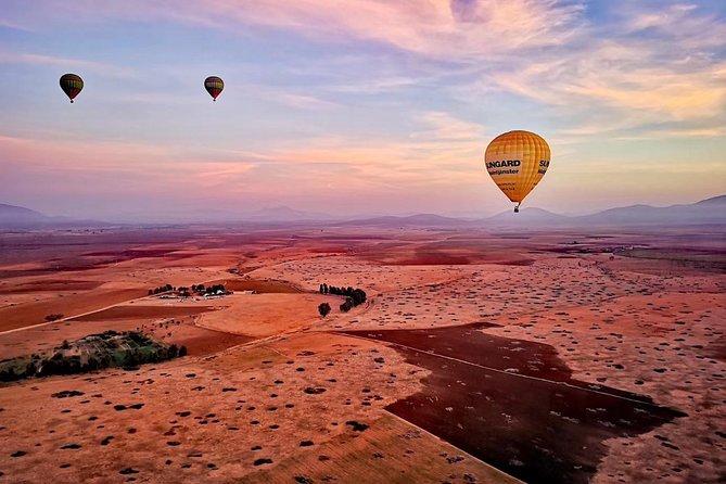 Vol en montgolfière au Palais Namaskar, Marrakech, Maroc